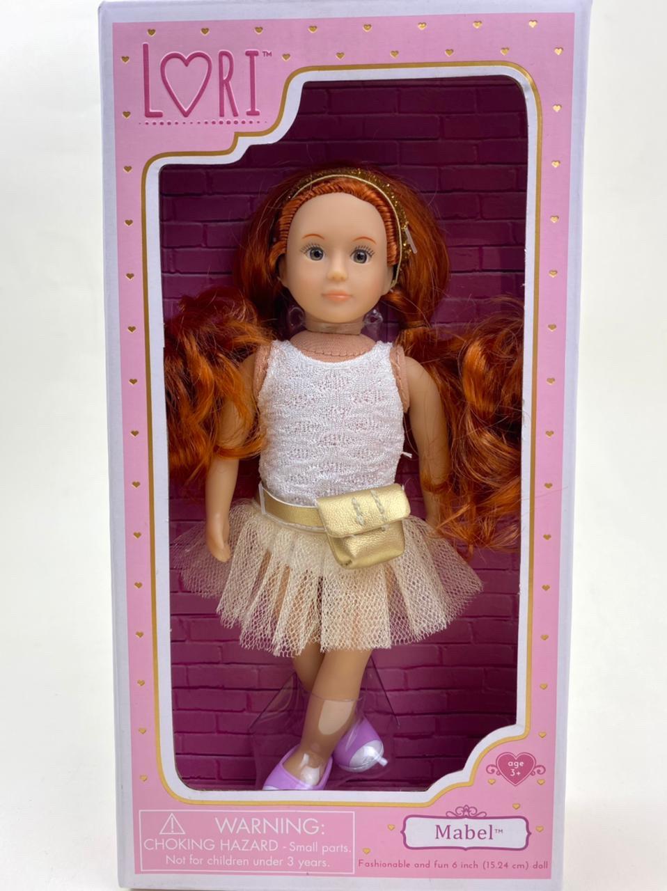 LORI Кукла (15 см) балерина Мейбл/ LO31046Z/ Канада