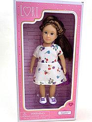 Кукла Lori by Battat в платье с сумочкой LO31108Z/ Энсли/ Канада