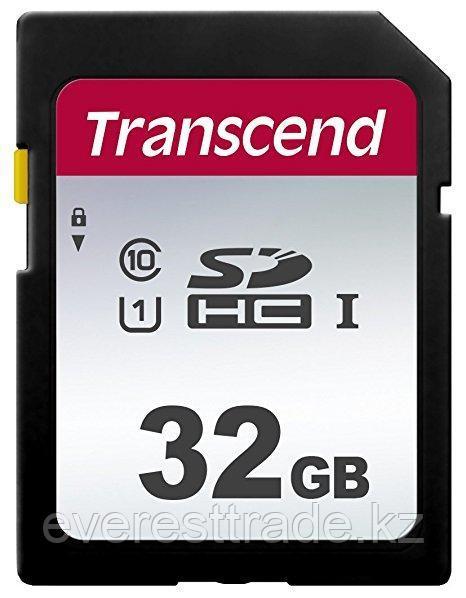 Transcend Карта памяти SD 32GB Class 10 U1 Transcend TS32GSDC300S