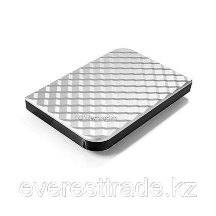 Verbatim Жесткий диск внешний 2,5 1TB Verbatim 053197 серебро, фото 2