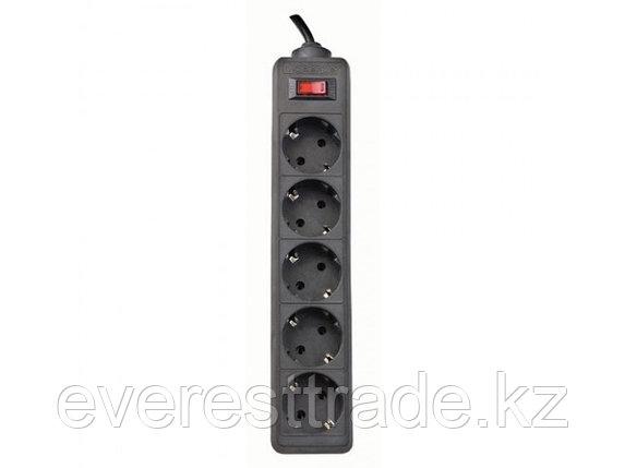 Defender Сетевой фильтр Defender ES 5.0 - 5,0 М, 5 розеток, черный, фото 2