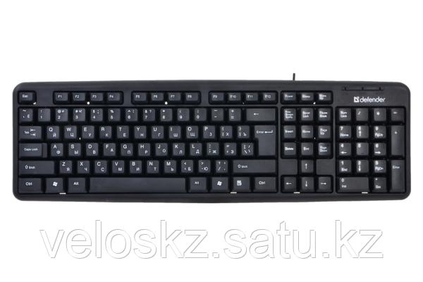 Defender Клавиатура проводная Defender Element HB-520 KZ черный, фото 2