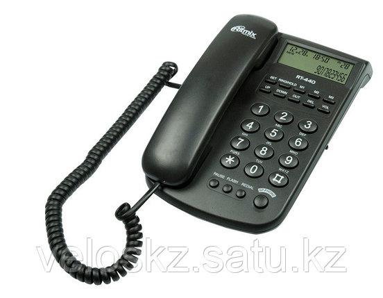 RITMIX Телефон проводной Ritmix RT-440 черный, фото 2