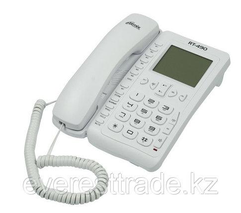 RITMIX Телефон проводной Ritmix RT-490 белый, фото 2