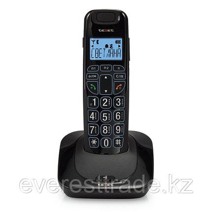 Texet Телефон беспроводной Texet TX-D7505А черный, фото 2