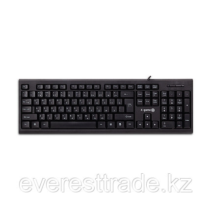 X-Game Клавиатура проводная X-Game XK-100UB, USB, 104 клавиш Анг/Рус/Каз, фото 2