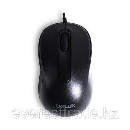 Delux Мышь проводная Delux DLM-109OUB,  USB, 1000 dpi, Длина кабеля 1,6м, фото 2