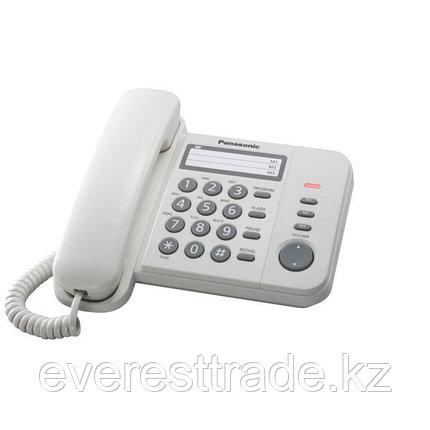 Panasonic Телефон проводной PANASONIC KX-TS2356 RUW, фото 2