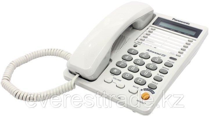 Panasonic Телефон проводной PANASONIC KX-TS2365 RUW, фото 2