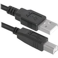 Defender Кабель интерфейсный для принтера Defender USB04-10  3м (пластик пакет)
