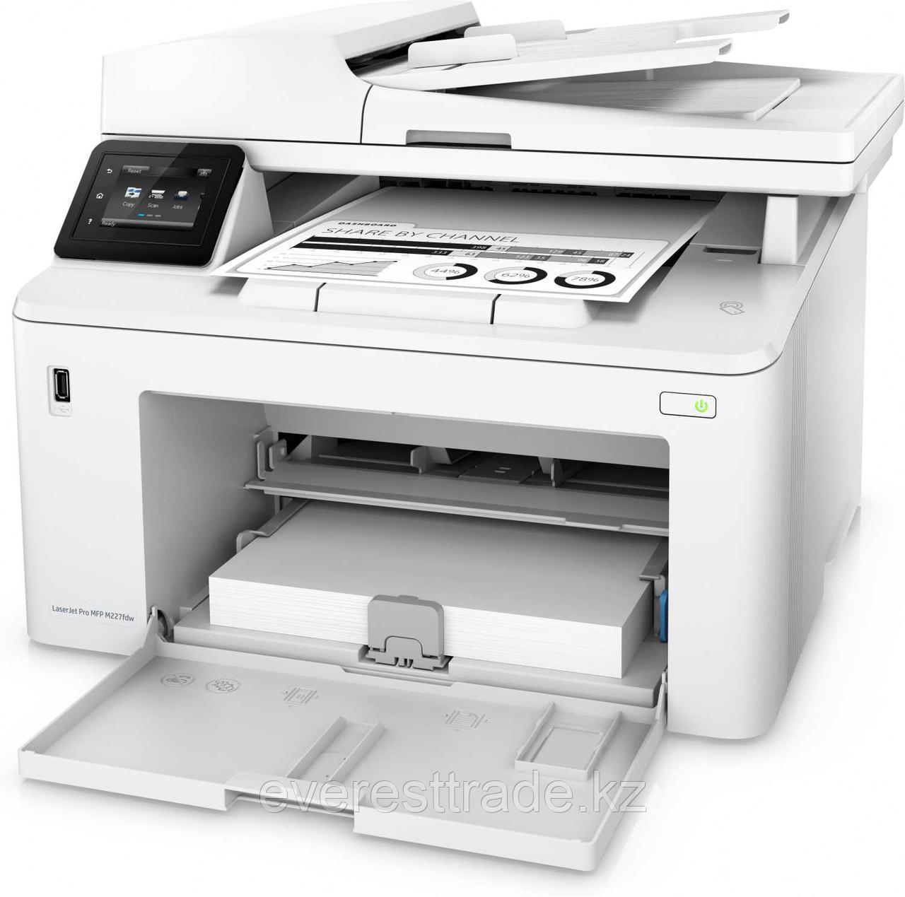 HP МФУ HP LaserJet Pro MFP M227fdw G3Q75A