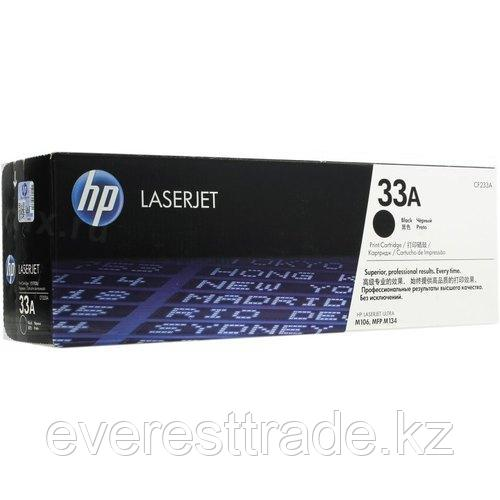 HP Картридж HP CF233A 2.3k