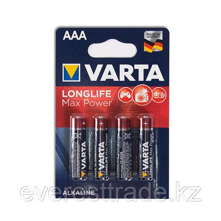 Varta Батарейки VARTA , ААА, LR03 Long Life Max Power Micro 4шт, фото 2