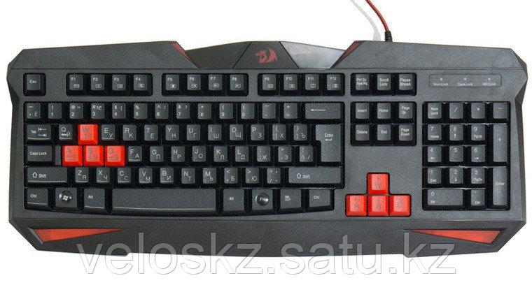 Redragon Клавиатура проводная Redragon Xenica  (Черный), USB, ENG/RU, фото 2