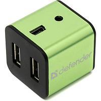 Defender Разветвитель Defender Quadro Iron USB 2.0 4-порта