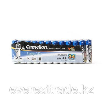 Camelion Батарейки CAMELION, АА. R6P-SP24B, Super Heavy Duty,1.5V, 1220 mAh, 24 шт. в плёнке, фото 2