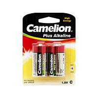 Camelion Батарейки CAMELION LR14-BP2 / C, Plus Alkaline, 1.5V, 8450 mAh, 2 шт. в блистере