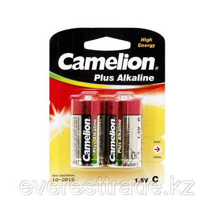Camelion Батарейки CAMELION LR14-BP2 / C, Plus Alkaline, 1.5V, 8450 mAh, 2 шт. в блистере, фото 2
