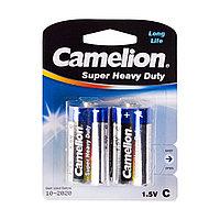 Camelion Батарейки  CAMELION R14P-BP2B - C, Super Heavy Duty, 1.5V, mAh, 2 шт. в блистере
