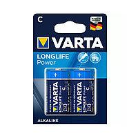 Varta Батарейки VARTA LR14-C, High Energy Longlife Baby, 1.5V, 2 шт., Блистер