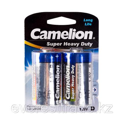 Camelion Батарейки CAMELION R20P-BP2B, Super Heavy Duty, D, 1.5V, mAh, 2 шт., Блистер, фото 2