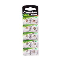 Camelion Батарейки, CAMELION, AG5-BP10, Alkaline, AG5, 1.5V, 0% Ртути, 10 шт. в блистере