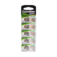 Camelion Батарейки,CAMELION, AG8-BP10, Alkaline, AG8, 1.5V, 0% Ртути, 10 шт. в блистере