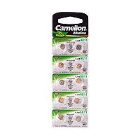 Camelion Батарейки,CAMELION, AG11-BP10, Alkaline, AG11, 1.5V, 0% Ртути, 10 шт. в блистере