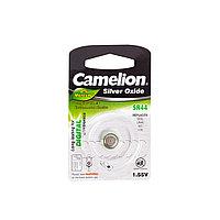 Camelion Батарейки,CAMELION, SR44-BP1 , Silver Oxide, 1.55V, 0% Ртути, 1 шт., Блистер