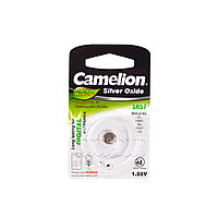 Camelion Батарейки, CAMELION, SR57-BP1 , Silver Oxide, 1.55V, 0% Ртути, 1 шт., Блистер