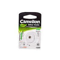 Camelion Батарейки, CAMELION, SR60-BP1, Silver Oxide, 1.55V, 0% Ртути, 1 шт., Блистер