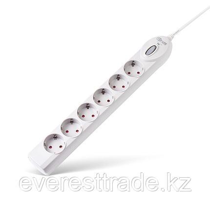 Tripp-lite Сетевой фильтр Tripp-lite, Super 6 DEU, 6 роз, 3 м., Защита от перегрузок, 10А, 1050Дж,белый, фото 2