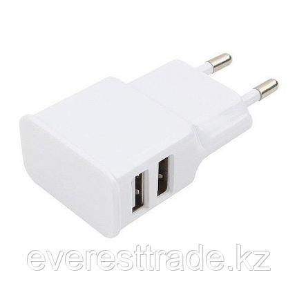 Cablexpert Адаптер питания Cablexpert MP3A-PC-11 USB 2 порта, 2.1A, белый, фото 2