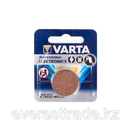 Varta Батарейка, VARTA, CR2450, 3V, 560 мАч, Professional Electronics, 1 шт. в Блистере, фото 2
