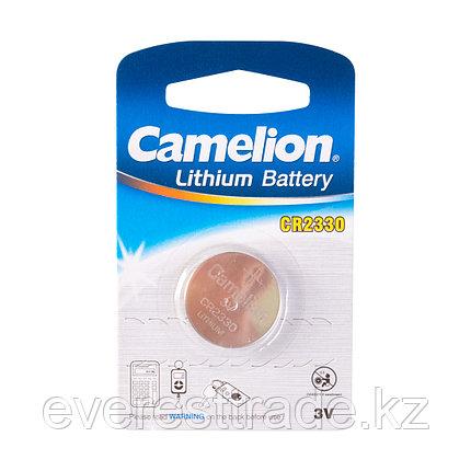 Camelion Батарейка, CAMELION, CR2330-BP1 Lithium Battery, CR2330, 3V, 220 mAh, 1 шт., фото 2