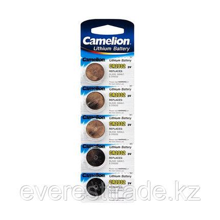 Camelion Батарейка, CAMELION, CR2032-BP5, Lithium Battery, CR2032, 3V, 220 mAh, 5 шт. в блистере, фото 2