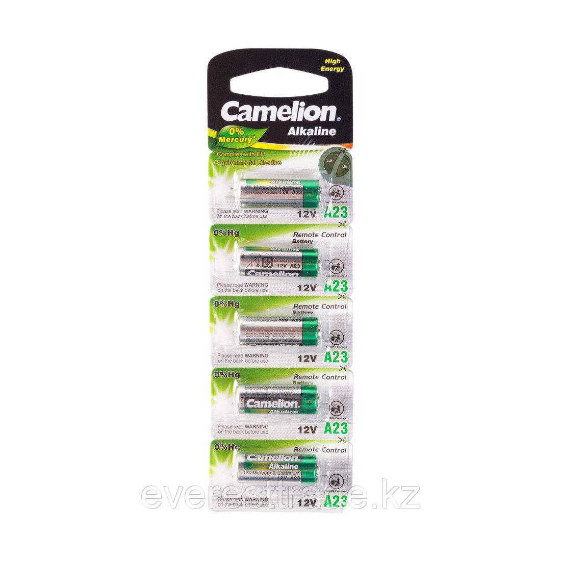 Camelion Батарейка, CAMELION, A23-BP5, 12V, 0% Hg (0% Ртути), 5 шт. в Блистере