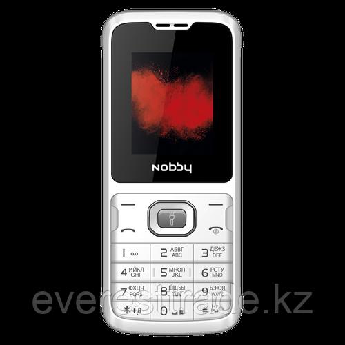Nobby Мобильный телефон Nobby 110 бело-серый
