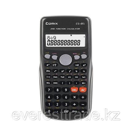Comix Калькулятор Comix, CS-85, 10+2 разряд., инженерный, Чёрный, фото 2