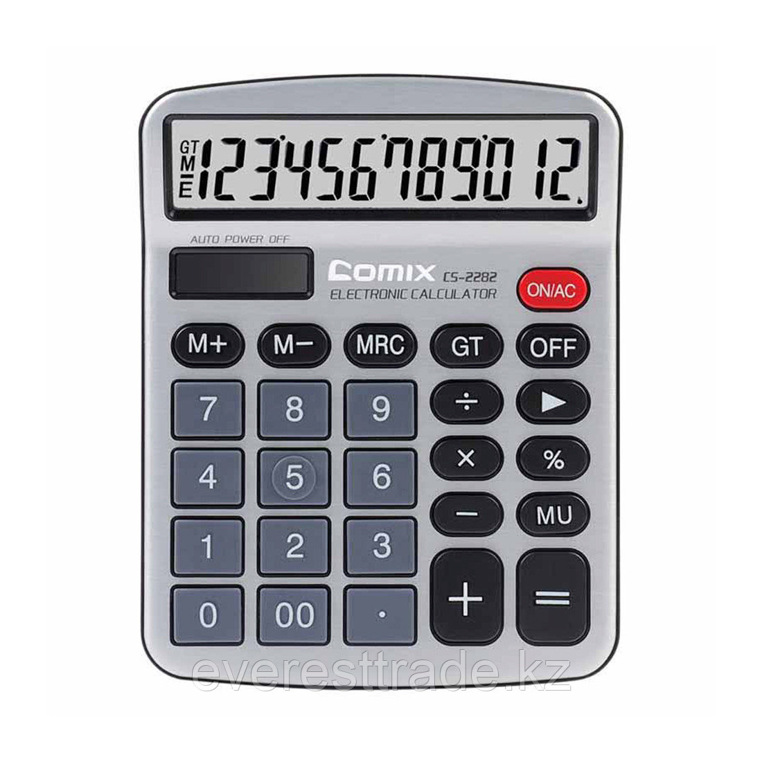 Comix Калькулятор Comix, CS-2282, 12 разряд., настольный, Серый
