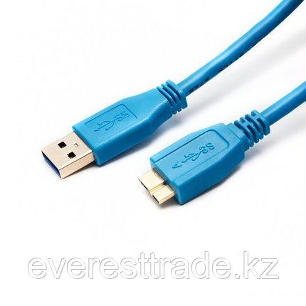 SHIP Переходник, SHIP, US007-1.2B, MICRO-A USB на USB 3.0, Блистер, 1.2 м, Синий, фото 2