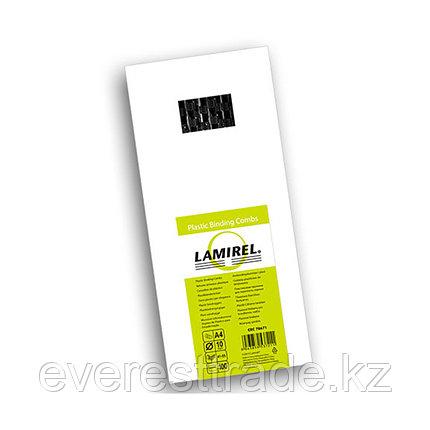 Lamirel Пружина пластиковая, Lamirel LA-78671, 10 мм. Цвет: черный, 100 шт, фото 2