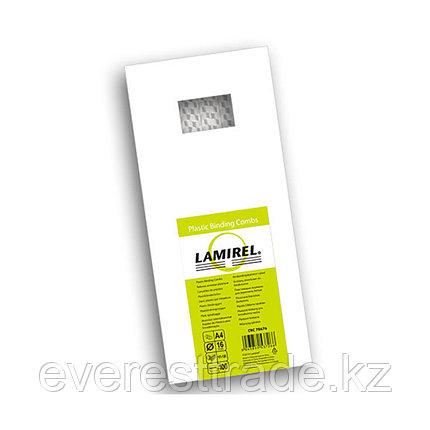Lamirel Пружина пластиковая, Lamirel LA-78676, 16 мм. Цвет: белый, 100 шт, фото 2