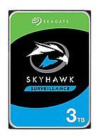 """Seagate Жесткий диск HDD 3000 Gb SEAGATE SkyHawk ST3000VX009, 3.5"""", 256Mb, 5400rpm"""