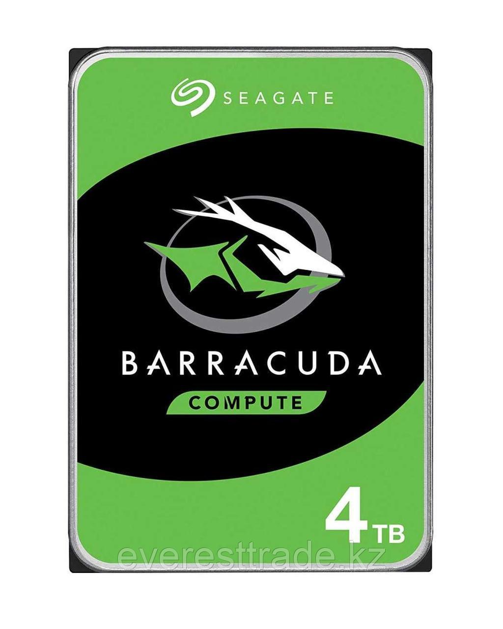 "Seagate Жесткий диск HDD 4000 Gb Seagate Barracuda ST4000DM004, 3.5"", 64Mb, 5400rpm"
