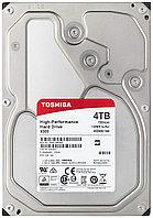 "Toshiba Жесткий диск HDD 4000 Gb TOSHIBA HDWE140UZSVA X300, 3.5"", 128Mb, 7200rpm"