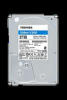 "Toshiba Жесткий диск HDD 2000 Gb TOSHIBA HDWU120UZSVA V300 Video Streaming, 3.5"", 64Mb, 5700rpm"