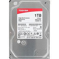 "Toshiba Жесткий диск HDD 1000 Gb TOSHIBA HDWD110UZSVA P300 High-Performance, 3.5"", 64Mb, 7200rpm"