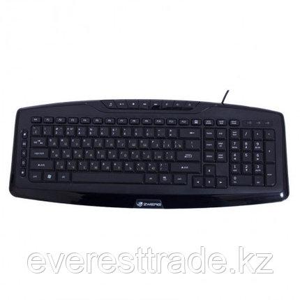 Zwerg Клавиатура проводная Zwerg Klavier KB2920 USB каз/рус/анг, 1,45м, фото 2