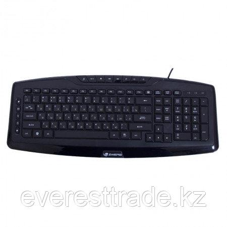 Zwerg Клавиатура проводная Zwerg Klavier KB2920 USB каз/рус/анг, 1,45м